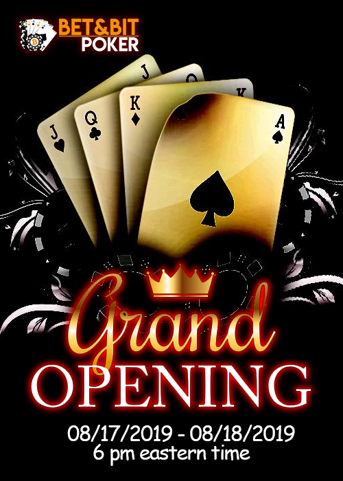 BET&BIT Grand Opening