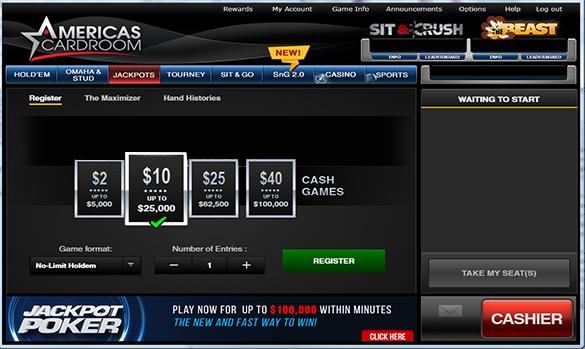 jackpot poker freeroll password