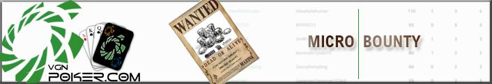 VGN Micro Bounty Leaderboard
