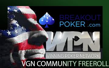 VGN Community Freeroll