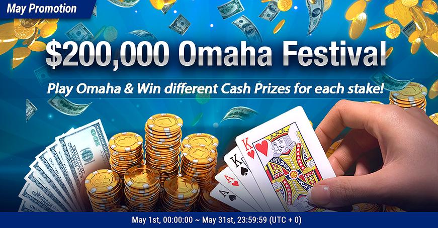 Breakout Poker 200k Omaha Festival