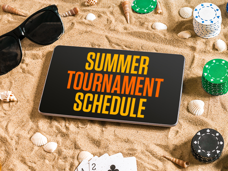 Summer Schedule Americas Cardroom