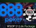 888 WSOP 2018 $12.6k Final Package Giveaway!