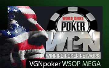 VGNpoker WSOP Mega Satellite