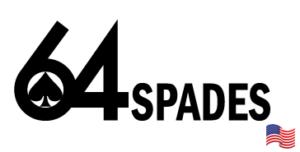 64 Spades Logo