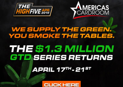 "ACR's High Five comes with 10-minute ""courtesy"" break"