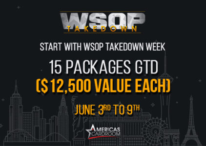 Win your $12,500 WSOP Main Event Package at Americas Cardroom