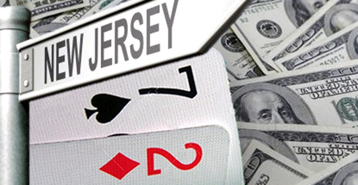 The Online Poker Revenues of New Jersey Marked Their Lowest Point During April