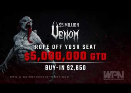 Americas Cardroom's $5 Million Venom is the newest link in a chain of great events