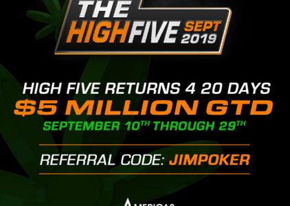 High Five Tournament Series Returns in just a few days