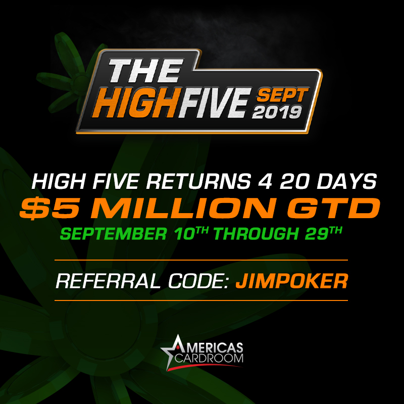High Five Americas Cardroom