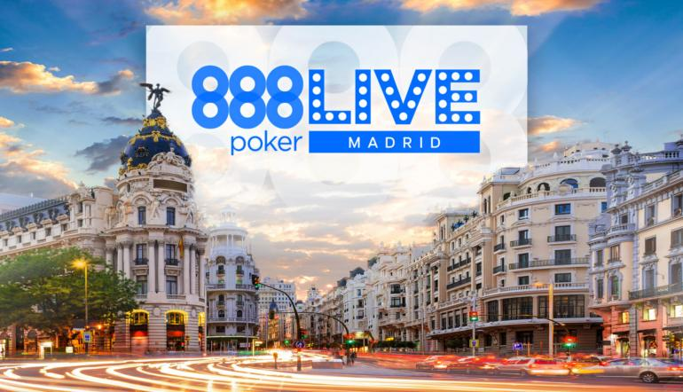 888poker Live Madrid 2020