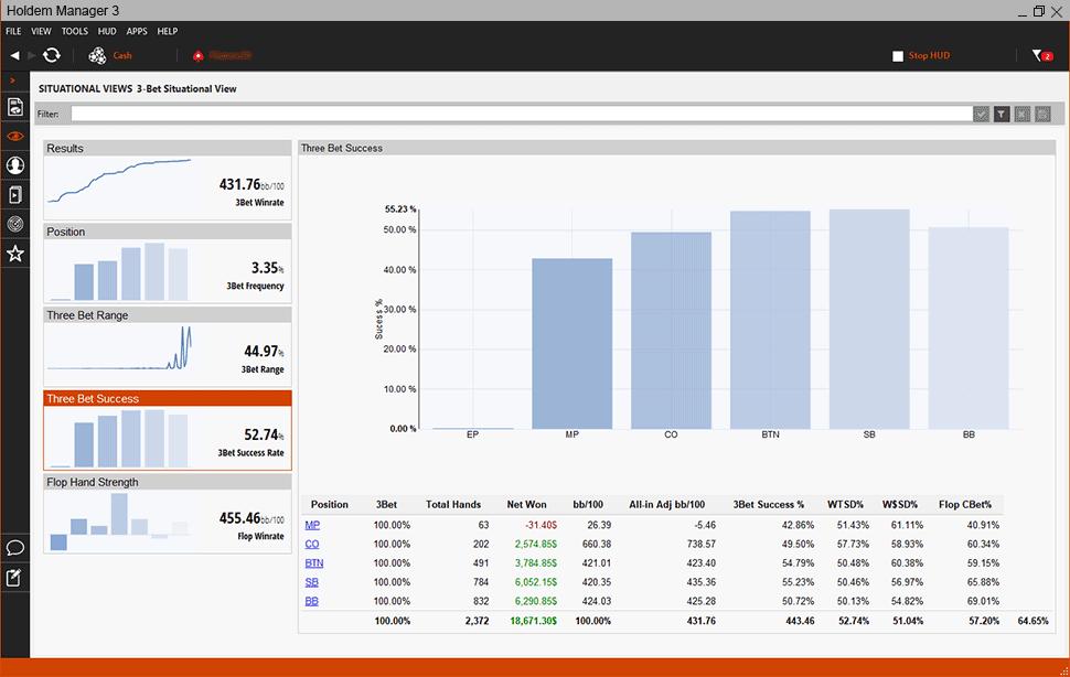 Holdem Manager 3 Screenshot 4