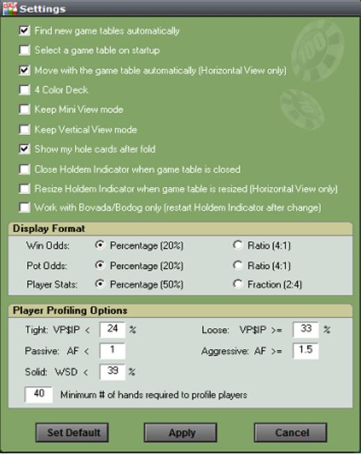 Holdem Indicator Screenshot 12