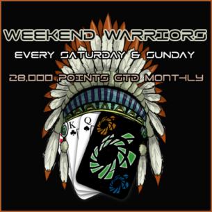 Weekend Warriors Password Freeroll VGN Poker Client
