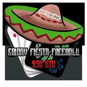 VGN Friday Fiesta Freeroll Logo
